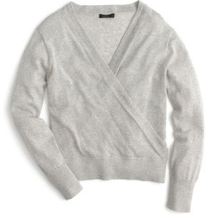 J. Crew Merino Wrap Sweater